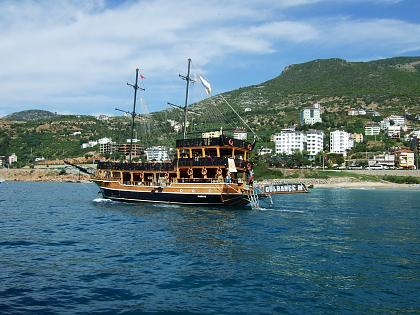 Нажмите на изображение для увеличения Название: Турецкий пирасткий корабль.jpg Просмотров: 252 Размер:97.3 Кб ID:49