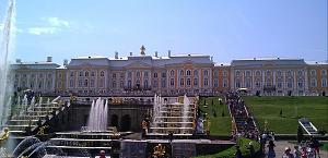 Нажмите на изображение для увеличения Название: Большой каскад и Большой Петергофский дворец.jpg Просмотров: 361 Размер:100.6 Кб ID:8